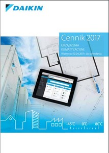 katalog klimatyzacji 2017 Daikin